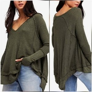 Olive thermal top